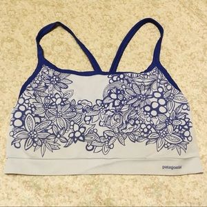Patagonia light blue sports bra size XL #32104